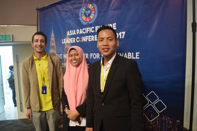 IPIEF student selected to be Indonesian Delegate to Asia Pacific Future Leader Conference 2017