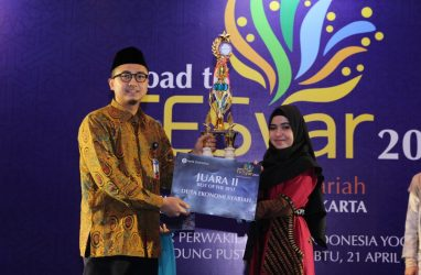 IPIEF Student emerged as 2nd Winner in the Selection of Sharia Economics Ambassador