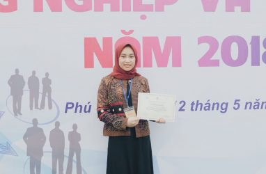 IPIEF Student Presented Her Insightful Paper at International Conference held in Vietnam