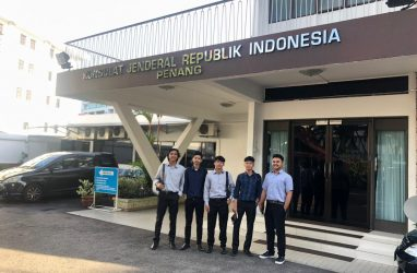 Five of IPIEF Student has Joined Internship Program in KJRI Penang, Malaysia