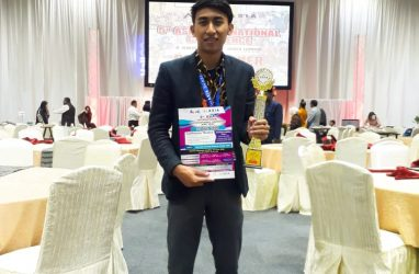 An IPIEF Student Awarded as a Best Presenter at the 5th Asia International Conference in Malaysia.