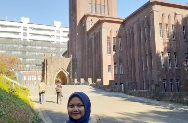Lisya Indrayana, IPIEF 2018 has participated in Youth Excursion in Tokyo, Japan